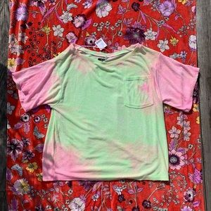 BDG Tops - Urban Outfitters BDG Terry Cloth Tie Dye Top - M